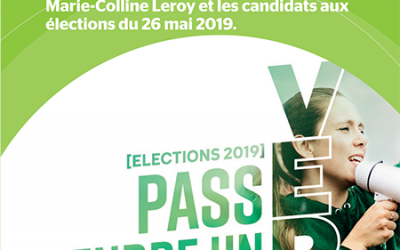 Elections 2019 – PASS prendre un VERT